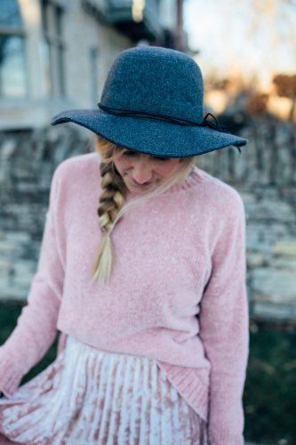 Winter Fashion Blush on Blush